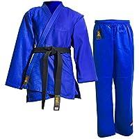 Daimyo Waza Uniforme de Judo, Hombre, Azul, 5 (180 cm)