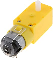 D DOLITY 1 Stk. Universal Mini DC Getriebemotor Elektromotor DC Motor für DIY