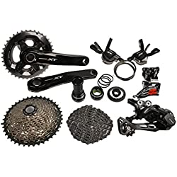 Shimano Deore XT M8000 Conjuntos de Bicicleta Groupset Grupo Kit 11-Velocidades 7pcs