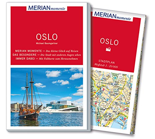 MERIAN momente Reiseführer Oslo: Mit Extra-Karte zum Herausnehmen