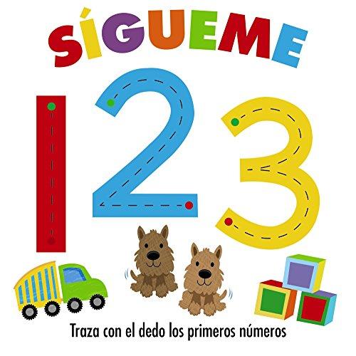 Sígueme 123 (Castellano - A Partir De 0 Años - Proyecto De 0 A 3 Años - Libros Sensoriales) por Varios Autores