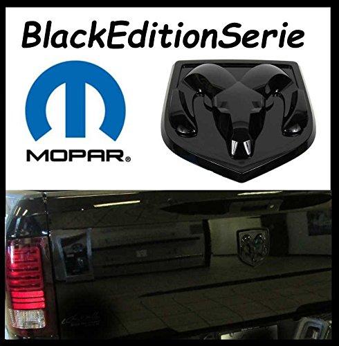 Power Parts Automotive GmbH Original Mopar Black Edition Serie Emblem Schriftzug Ram Head Heckklappen Emblem 13-18