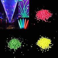 Alokie Glow Sand Powder,Botella Luminosa de la Estrella del Acuario del Tanque de Pescados de la Arena Que Hace el Polvo del Resplandor