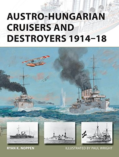 Austro-Hungarian Cruisers and Destroyers 1914–18 (New Vanguard) por Ryan K. Noppen