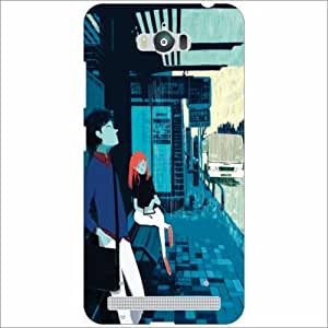 Design Worlds Silicon Back Cover For Asus Zenfone Max ZC550KL - Phone Cover Multicolor