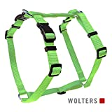 Wolters | Geschirr Basic in Lime | Brustumfang 50 - 75 x B 2 cm