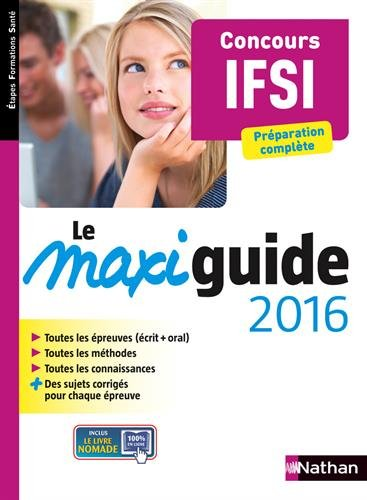 Le Maxi guide 2016 - Concours IFSI
