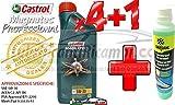 Motoröl für auto Castrol Magnatec Professional 5W30/C2–Fully Synthetic–für Motoren Benzin/diesel-4Liter + 1x Bardahl WINDSCREEN Cleaner Concentrated Flüssigkeit Scheibenreiniger Konzentrat FROSTSCHUTZ-20°C bis 70°C reinigt und Fett 250ml