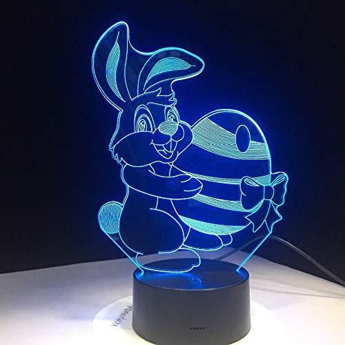 Nuevo Conejo Lindo Que Lleva Bola Huevo Zanahoria