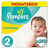 Pampers Premium Protection Windeln Gr. 2 3-6 kg Monatsbox 240 St.