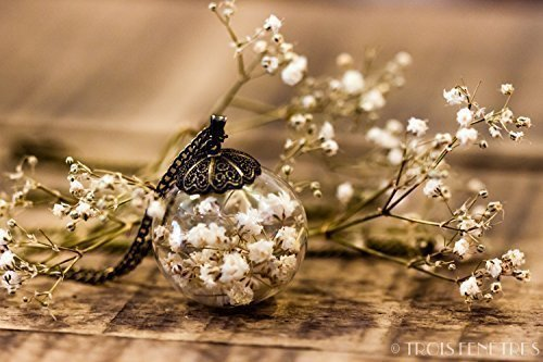 collier-inclusion-de-fleurs-blanches-de-gypsophile-30mm-pendentif-boheme-avec-inclusion-de-fleurs-se