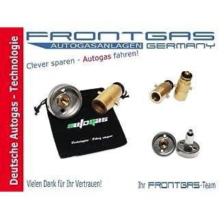 Tankadapter Adapter LPG Autogas Set M10 Dish/Bajonett+Adaptertasche