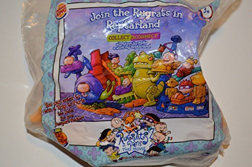 Rugrats in Paris:The Movie Burger King 2000 Rugrats in Reptarland Tommy's Reptar Rider by Burger King (Rugrats In Paris)