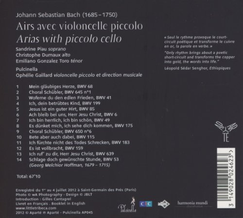 Bach : Arias