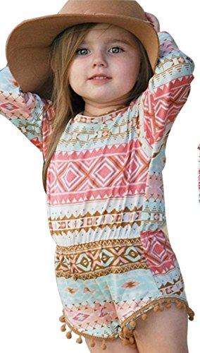 Baby Jumpsuit Internet Baby Mädchen aztekische Strampler Overall (Aztekische Für Kostüme Mädchen)