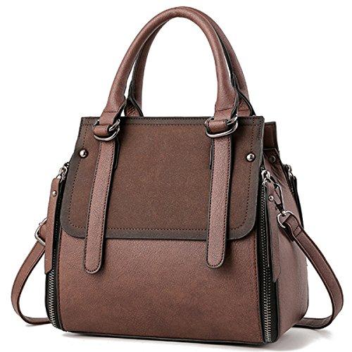 Bag Schultertasche Atmospheric Brown Messenger DHFUD Damenmode B8FIRqqg