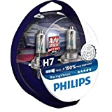 Philips RacingVision 12972RVS2, 150% H7 koplamp, dubbelset