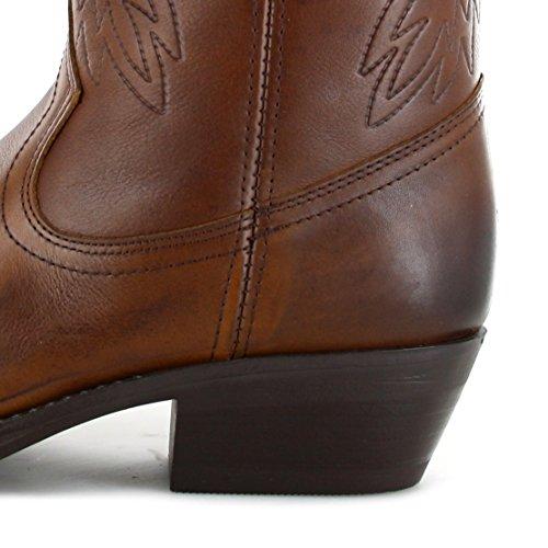 Fashion chaussures bottes bU1011 westernstiefel cowboystiefel (différents coloris) Marron - Camel