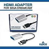 Câble adaptateur HDMI pour Sega Dreamcast - Solution simple Plug & Play pour connecter une Dreamcast à un téléviseur moderne