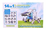 #7: Emob Educational 14 in 1 Solar Power Energy Robot Toy Kit for Learning Purpose