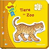 Kleines Puzzlebuch: Tiere im Zoo