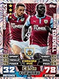 Match Attax 2014/2015 Danny Ings / Marvin Sordell 14/15 Duo Card