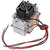 140W Refrigerador de Aire Acondicionado Refrigeración de Semiconductor de 2 Pedazos Refrigerador por Agua Dispositivo de DIY