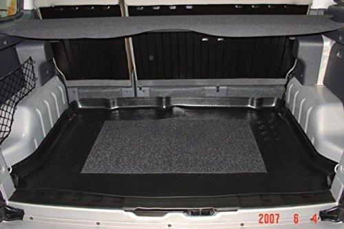 Kofferraumwanne mit Anti-Rutsch passend für Citroen Berlingo Multi Space / 5-Sitzer ohne Modubox / Modelle mit Hecktüren u. -klappe 1998-2007 126x86