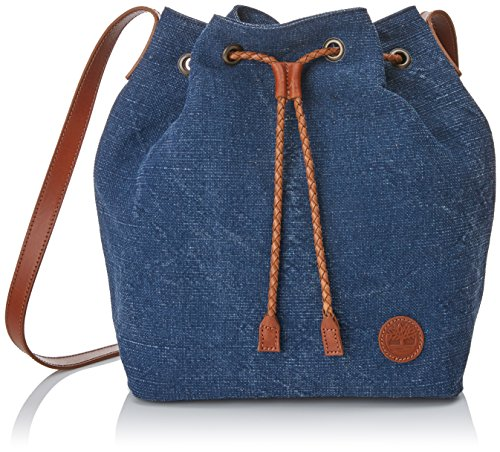 Timberland Damen Tb0m5380 Tornistertasche, blau (Vintage Indigo), 15.5x30.5x27 cm