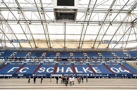 Geschenkgutschein: Fußballtrip mit Schalke-Stadiontour für 2