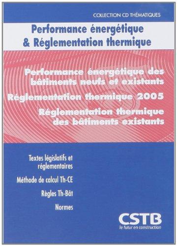 CD Performance Énergétique & Réglementation Thermique