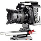 Kamerar Honu Cage with Rod Holder Kit for Panasonic GH-3/GH-4 & for Sony A7
