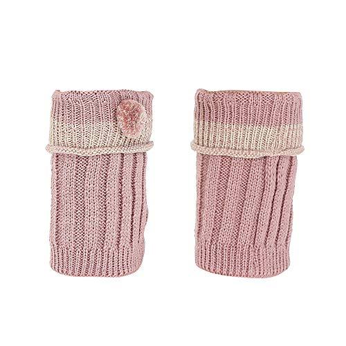 XuxMim Frauen Winter Warm Knit Beinlinge Crochet Leggings Slouch Boot Socken