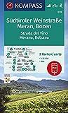 KOMPASS Wanderkarte Südtiroler Weinstraße, Meran, Bozen: 2 Wanderkarten 1:25000 im Set inklusive Karte zur offline Verwendung in der KOMPASS-App. ... (KOMPASS-Wanderkarten, Band 78)