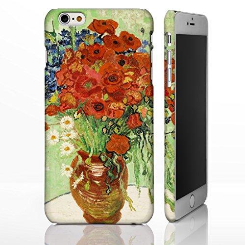 Schutzhüllen für iPhone, mit Blumenmotiven aus der klassischen Kunst, Gemälde berühmter Künstler, plastik, 19. Red Poppies and Daisies - Vincent Van Gogh, iPhone 4/4S