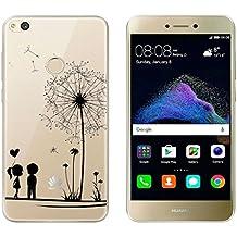 """Huawei P8 Lite 2017 Funda , TUTUWEN Transparente Silicona TPU de Flexibilidad Carcasa Case Bumper Ultra Delgado Espalda Case Cover para Huawei P8 Lite (2017) 5.2"""""""