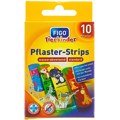 "Figo Kinder-Pflaster ""Zoomotive"" (1 Packung, 10 Stück)"
