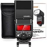 Neewer 2,4G drahtlos TTL Speedlite Flash HSS 1/8000s GN36 mit Hartdiffusor für Fujifilm X-Pro2, X-T20, X-T2, X-T1, X-Pro1, X-T10, X-E1, X-A3, X100F, X100T Kameras (NW400F)