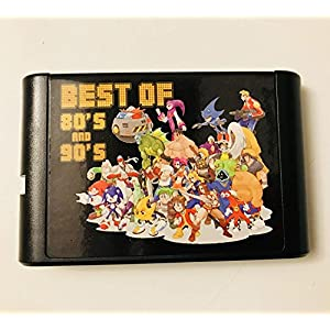 Neueste 196 in 1 Sega Genesis Mega Drive 16 bit Multi Cart Cartridge
