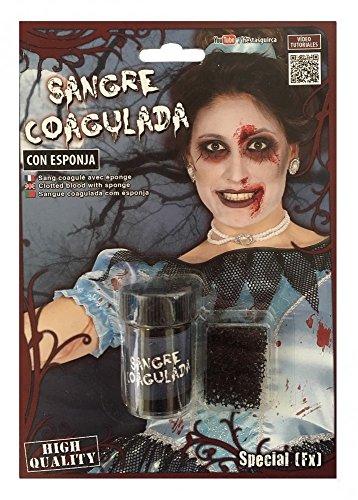 shoperama Schürfblut Wundschorf Special FX Kunstblut Theaterblut Filmblut Make-up Schminke Wunde Halloween Vampir Zombie geronnenes Blut