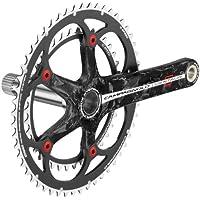 CMP Centaur Carbon 10 V-Set di aste di comando e piatti per bicicletta, colore: rosso/nero, Unisex, rosso / nero, 175-39x53