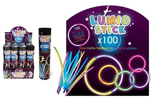 FX DISTRIBUTION Lot de 100 Bracelets Fluos - Coloris Assortis