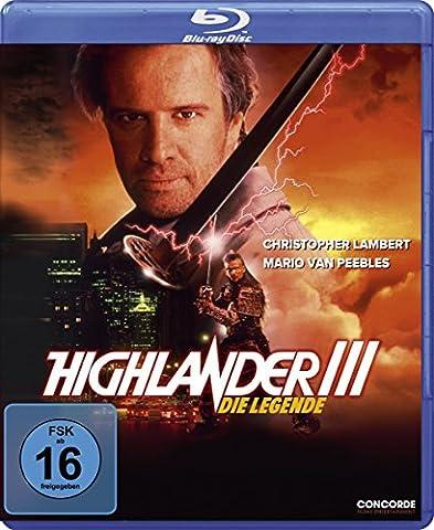 Le Highlander - Highlander III-die Legende (Blu-Ray) [Import
