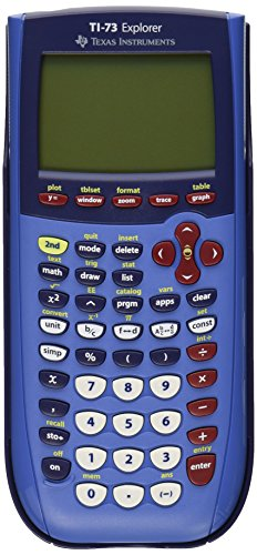 Texas Instruments TI-73 Explorer - Blue