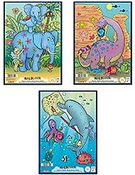 Herlitz Malblock A4 Comic, holzfreies Papier, 70 g/m², 75 Blatt, weiß
