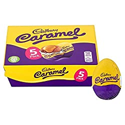 Cadbury 5 Caramel Egg 195g Easter Egg Treat