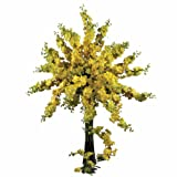 Nearly Natural 38.5 Inch Delphinium Stem Set of 12 Yellow