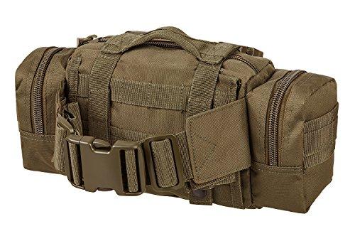 Einsatz Gürteltasche mit vielen Taschen kleine Ausführung in verschiedenen Farben Coyote