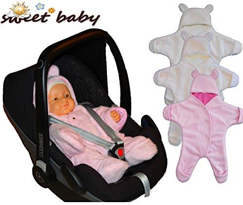 Sweet Baby - Traje de nieve - para bebé niña Rosa S