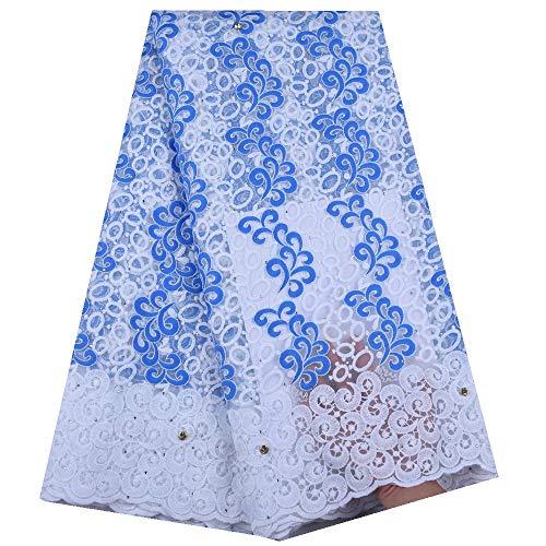 Vestito Netto 100/% poliestere tessuto tulle materiale-bianco seta